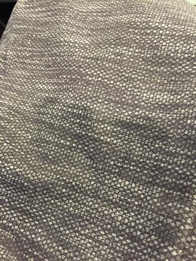 lululemon-diamond jacquard space dye material