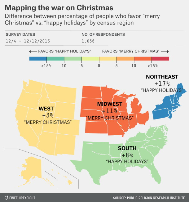 Mapping the war on Christmas