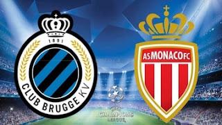 مشاهدة مباراة موناكو وكلوب بروج بث مباشر بتاريخ 06-11-2018 دوري أبطال أوروبا