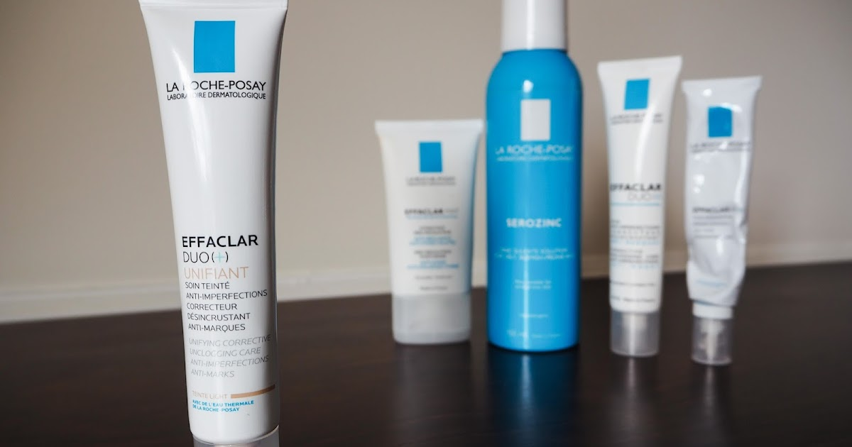 cherries in the snow la roche posay effaclar duo unifiant in light review
