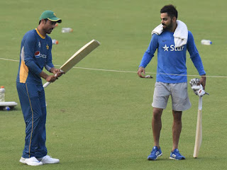 India and Pakistan Team Cricketers