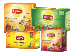 Logo Con Tè Lipton vinci biciclette elettriche Lombardo Evolution