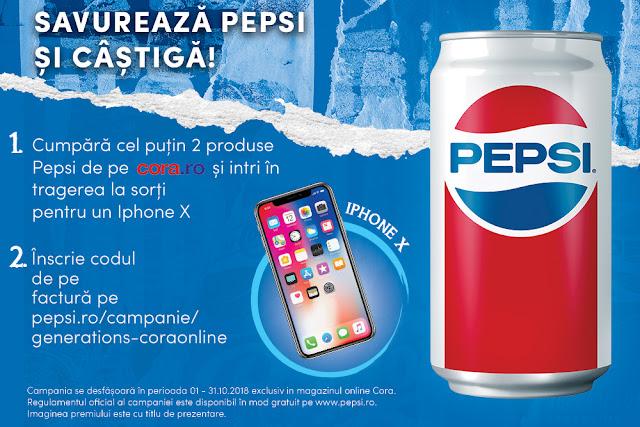 Savureaza Pepsi si castiga!