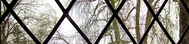 Early spring view from a window in the Chateau of Azay le Rideau.  Indre et Loire, France. Photographed by Susan Walter. Tour the Loire Valley with a classic car and a private guide.