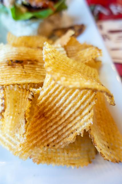 homemade chips - Gas Full Service Restaurant - St Augustine FL