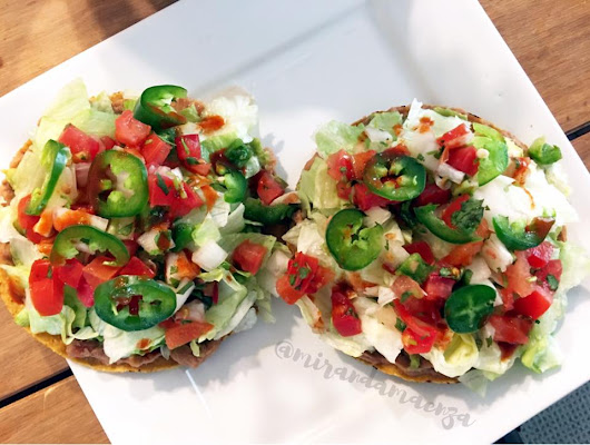 Tostada Tuesday?! Quick & Easy Weeknight Recipe!