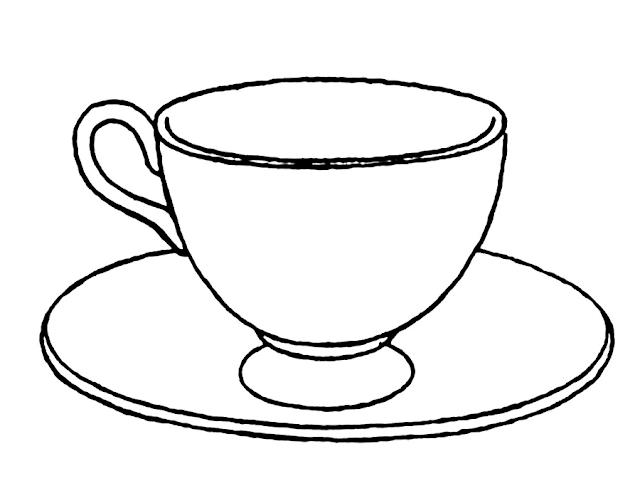 Gambar Mewarnai Peralatan Dapur - 16