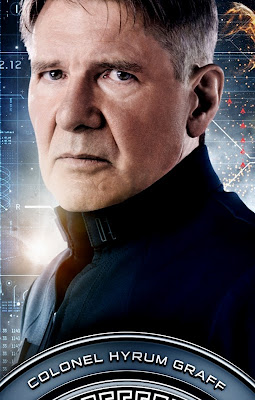 Ender's Game Harrison Ford Poster