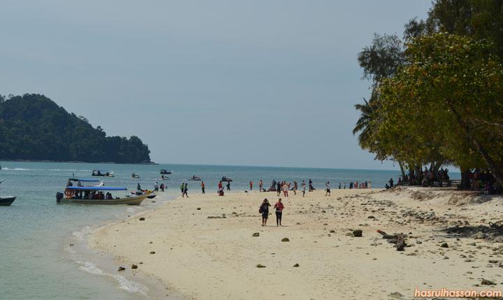 Pulau Beras Basah Tempat Menarik Langkawi