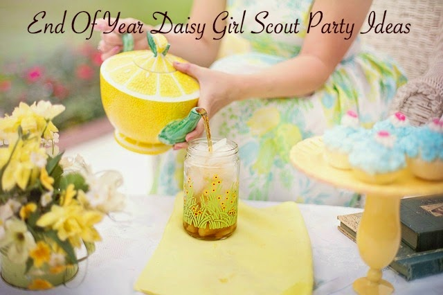 Daisy Girl Scout Party Ideas