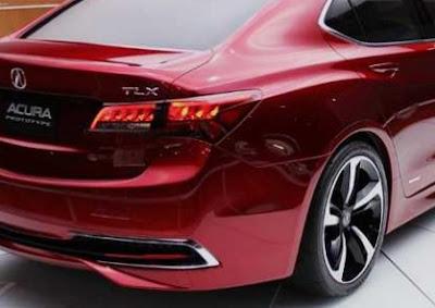 2018 Acura TLX Exterior Redesign