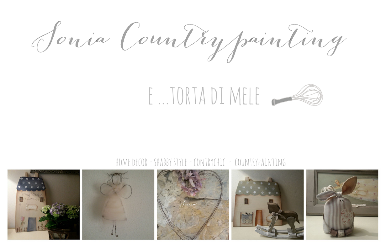 Sonia Countrypainting   e    Torta di Mele