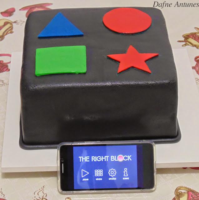 Bolo jogo - puzzle cake