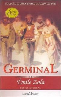 Capa do livro Germinal