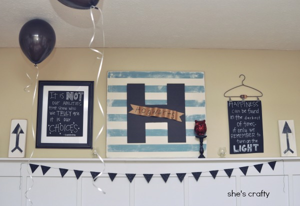 How to decorate for a Harry Potter party