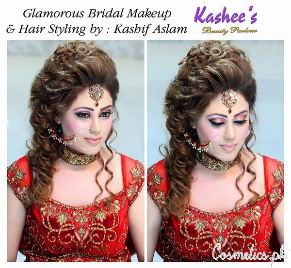 Kashee S Beauty Parlour: Kashee's New Look Makeup And Hair Styles For Bridal 2017