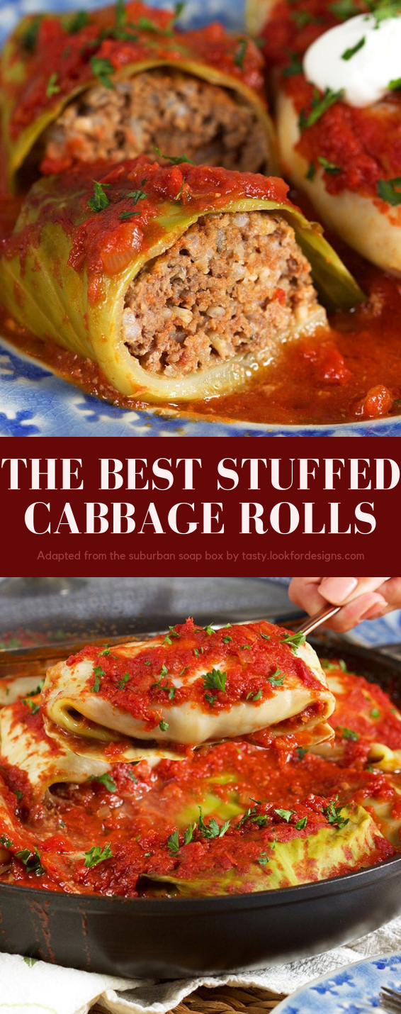 The Best Stuffed Cabbage Rolls Recipe