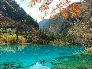 จิ่วจ้ายโกว (Jiuzhaigou Valley)