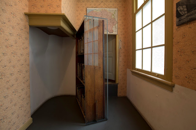 Bookcase at Anne Frank House, Amsterdam