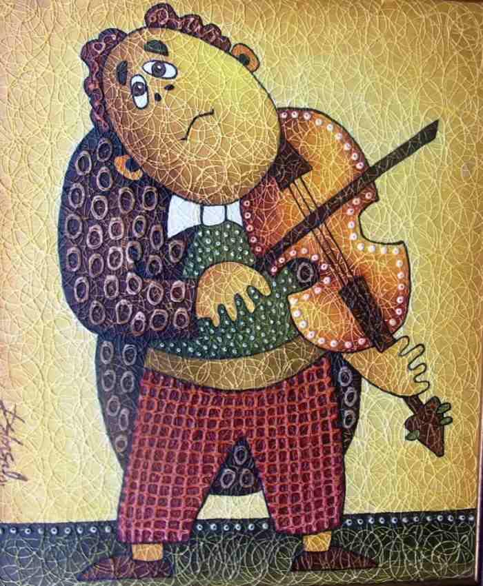 Российский художник. Олег Давыдов
