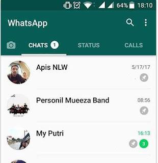 Shortcut Chat Dan Pinned Chat