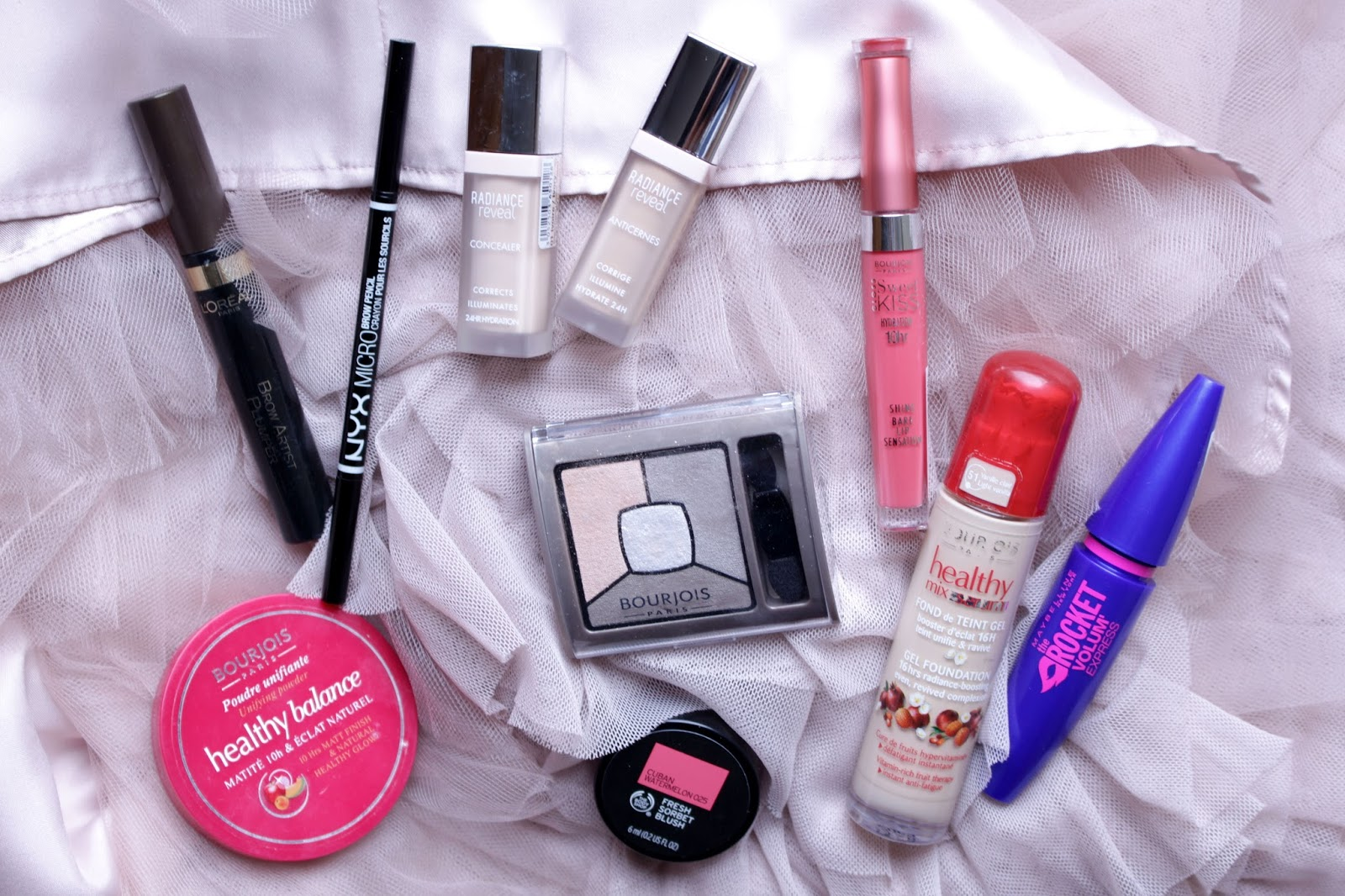 Drugstore make-up