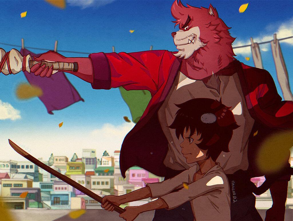 Bakemono no Ko [Movie] Sub Indo