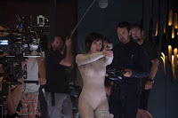 Scarlett Johansson on the set of Ghost in the Shell (2017) (76)
