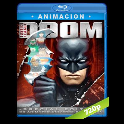 La Liga De La Justicia Perdicion (2012) BRRip 720p Audio Dual Latino-Ingles 5.1