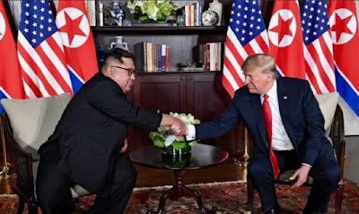 Meeting of Donald Trump and Kim Jong Un