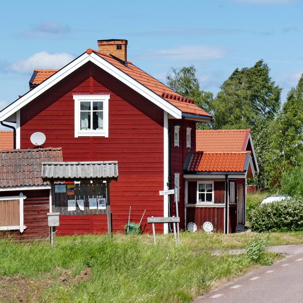 romantischeslandleben rote schweden h uschen. Black Bedroom Furniture Sets. Home Design Ideas