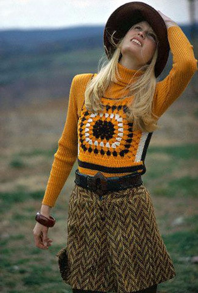 Wtf Retro Vests 27 Hilarious Knit Sweaters From The 1960s