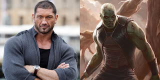 Former wrestler main in superhero movie Guardian of the Galaxy