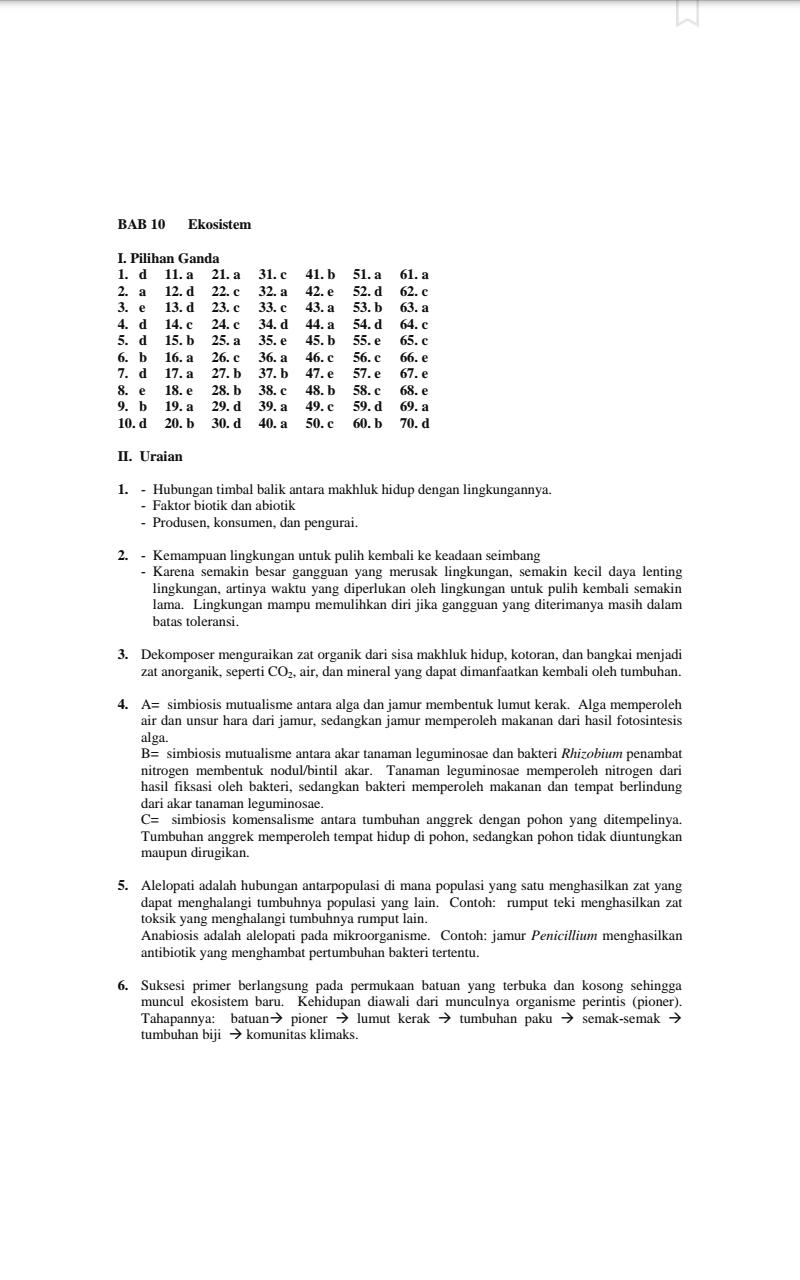 Suket Teki Artinya : suket, artinya, Kunci, Jawaban, Biologi, Mediatama, Kelas, IlmuSosial.id