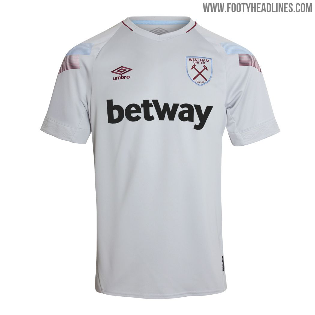 detailed look f5be7 f74f8 West Ham United 18-19 Third Kit Released - Footy Headlines