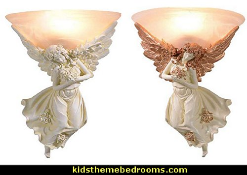 Angel Wings Wall Sconce