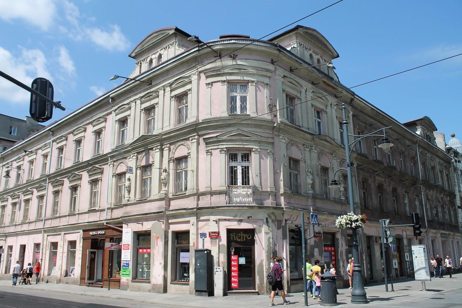 Baedeker Lodzki Piotrkowska 45 Kamienica Szai Wislickiego