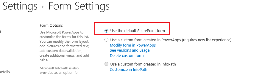 Power Apps to build Apps and customize SharePoint List forms