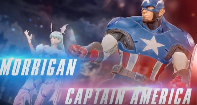 Marvel vs Capcom Infinite enseña dos nuevos personajes: Capitán América y Morrigan