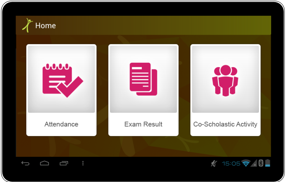 CCE App Home Page