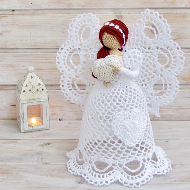 Aprende A Tejer Los 225 Ngeles M 225 S Hermosos A Crochet Diy