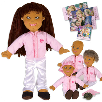 Kimmie Cares soft doll