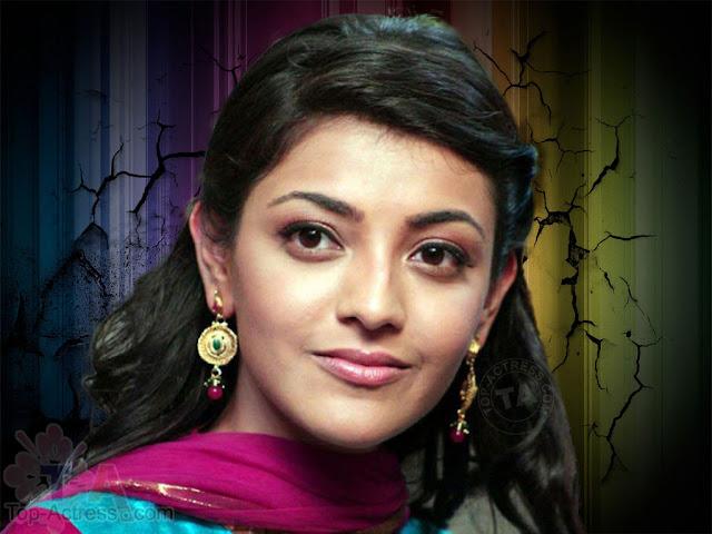 cute Kajal Agarwal HD wallpaper