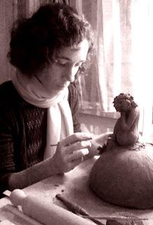 Annapia Sogliani art ceramic handmade céramique fait décoré main ceramica fatta decorata mano