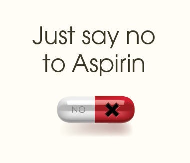 Just say no to aspirin. It's extremely toxic to cats.