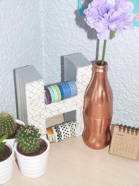 botella-cristal-pintura-cobre