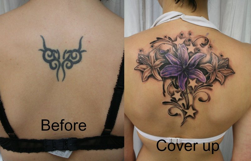 Tattoo Cover Ups Designs: Laraverse: Cover Up Tattoos Before After