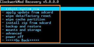 Cara Backup Dan Restore Rom Android Dengan Cwm Atau TWRP