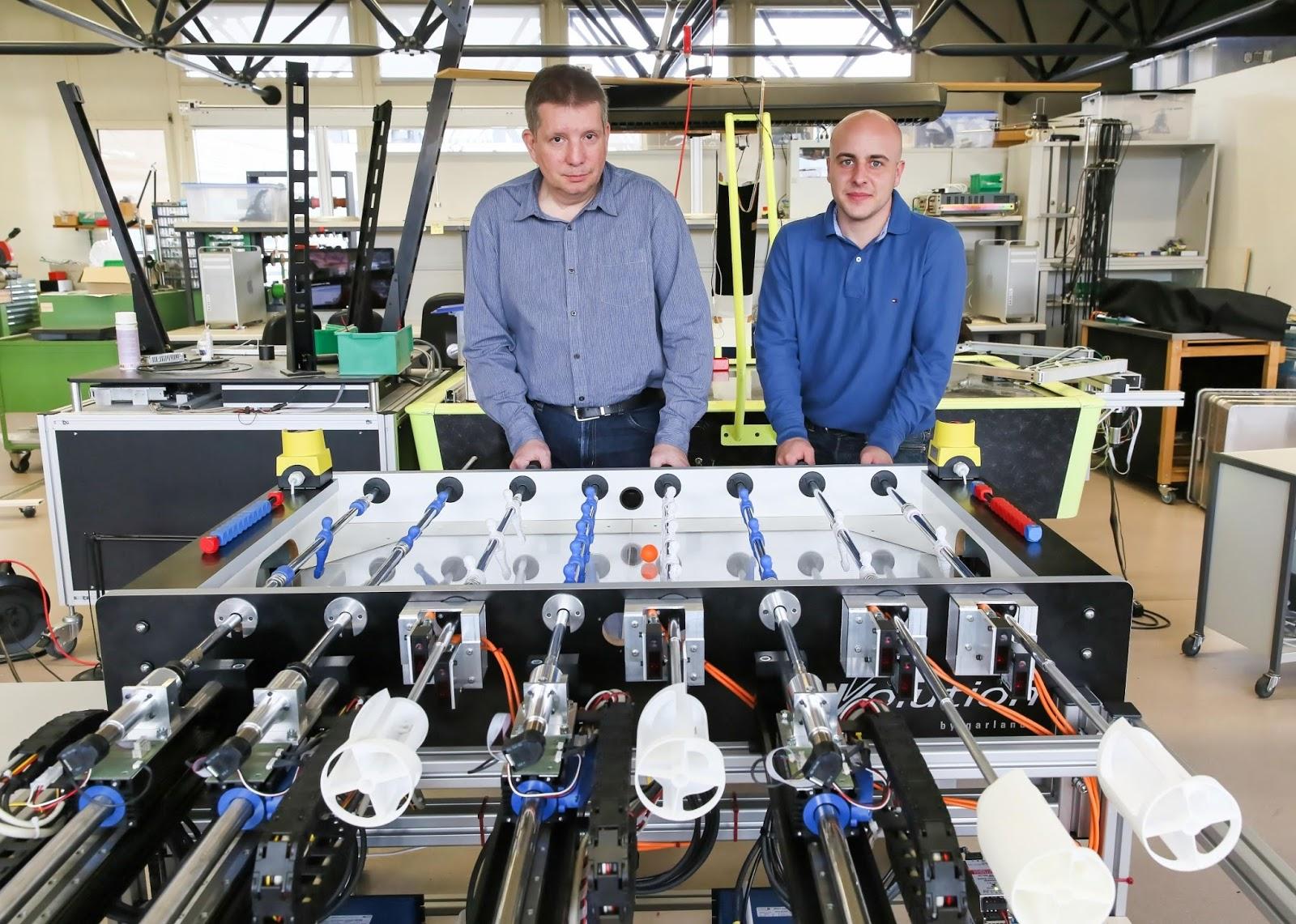 Robots Now Beating Humans at Foosball