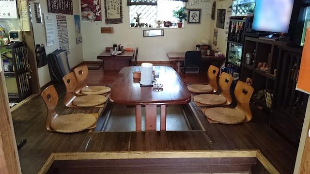 愛ちゃん食堂の店内の写真
